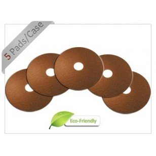 12 inch Brown Floor Finish Stripper Pad